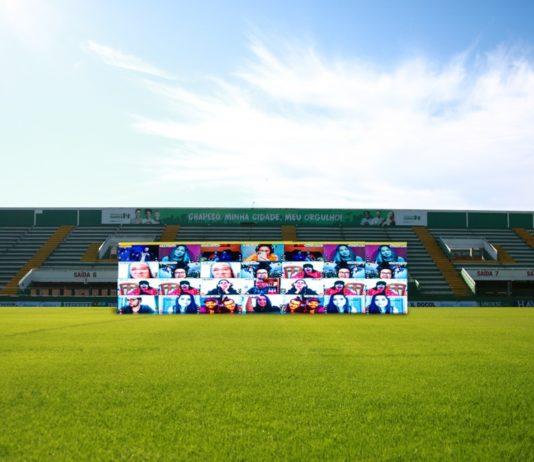 Sem público, Chapecoense recorre a tecnologia e terá torcida interativa em jogo