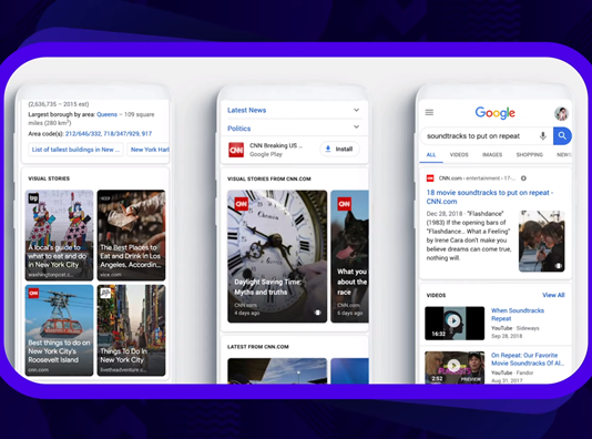 Google libera nova forma de postagens com Stories para público brasileiro