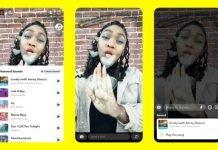 Snapchat libera músicas para publicações dos usuários de dispositivos iOS