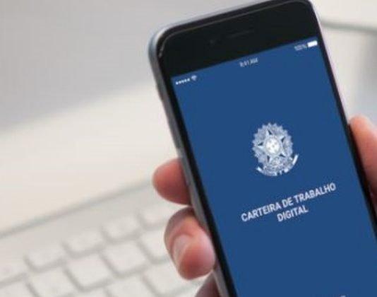 Brasileiro pode fazer emissão da Carteira de Trabalho Digital